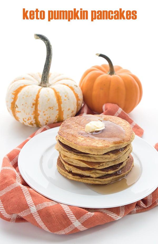 Keto Pumpkin Pancakes  BEST Keto Pancake Recipes 15 ABSOLUTELY Mouth Watering