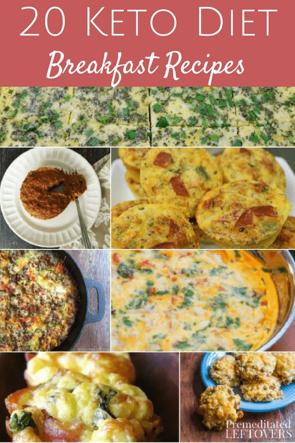 Keto Recipes For Breakfast  20 Keto Breakfast Recipes Premeditated Leftovers™