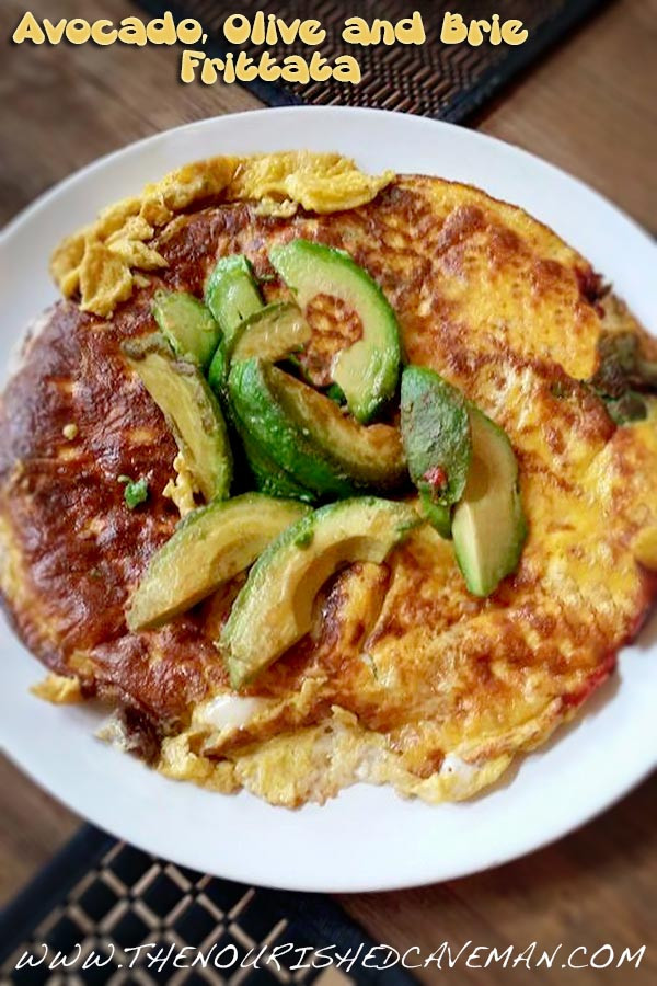 Keto Recipes For Breakfast  Keto Breakfast Frittata With Black Olives and Fried