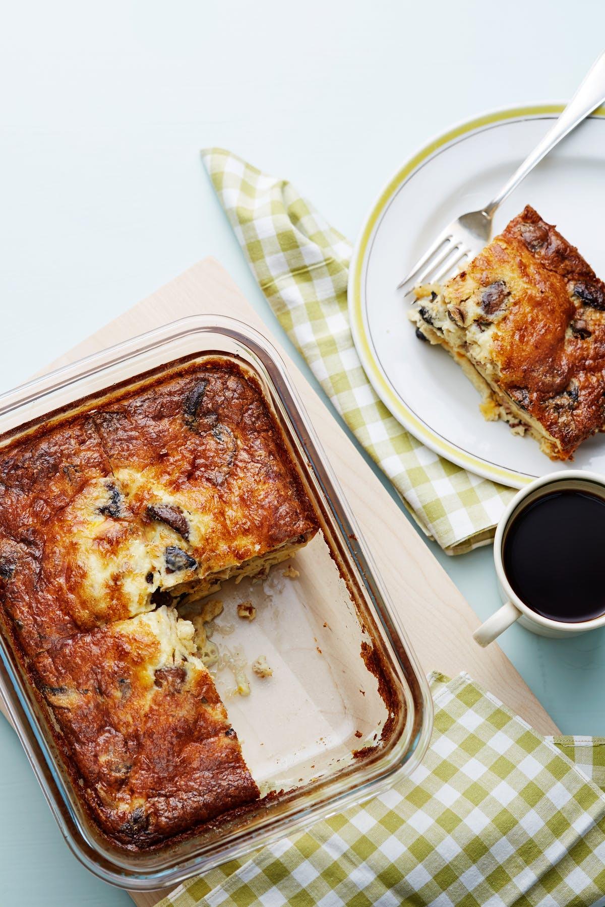 Keto Recipes For Breakfast  Keto Bacon and Mushroom Breakfast Casserole Diet Doctor