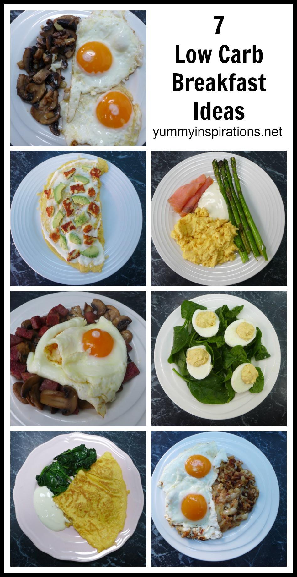 Keto Recipes For Breakfast  7 Low Carb Breakfast Ideas A week of Keto Breakfast Recipes