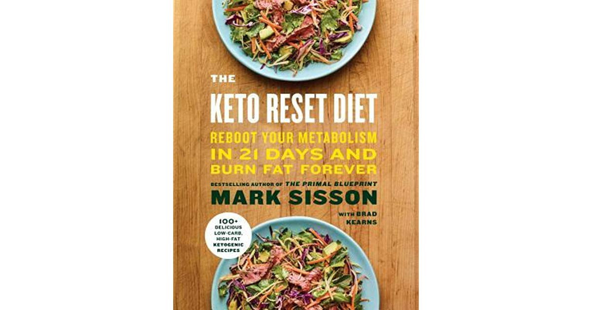 Keto Reset Diet Book  Book giveaway for The Keto Reset Diet Reboot Your