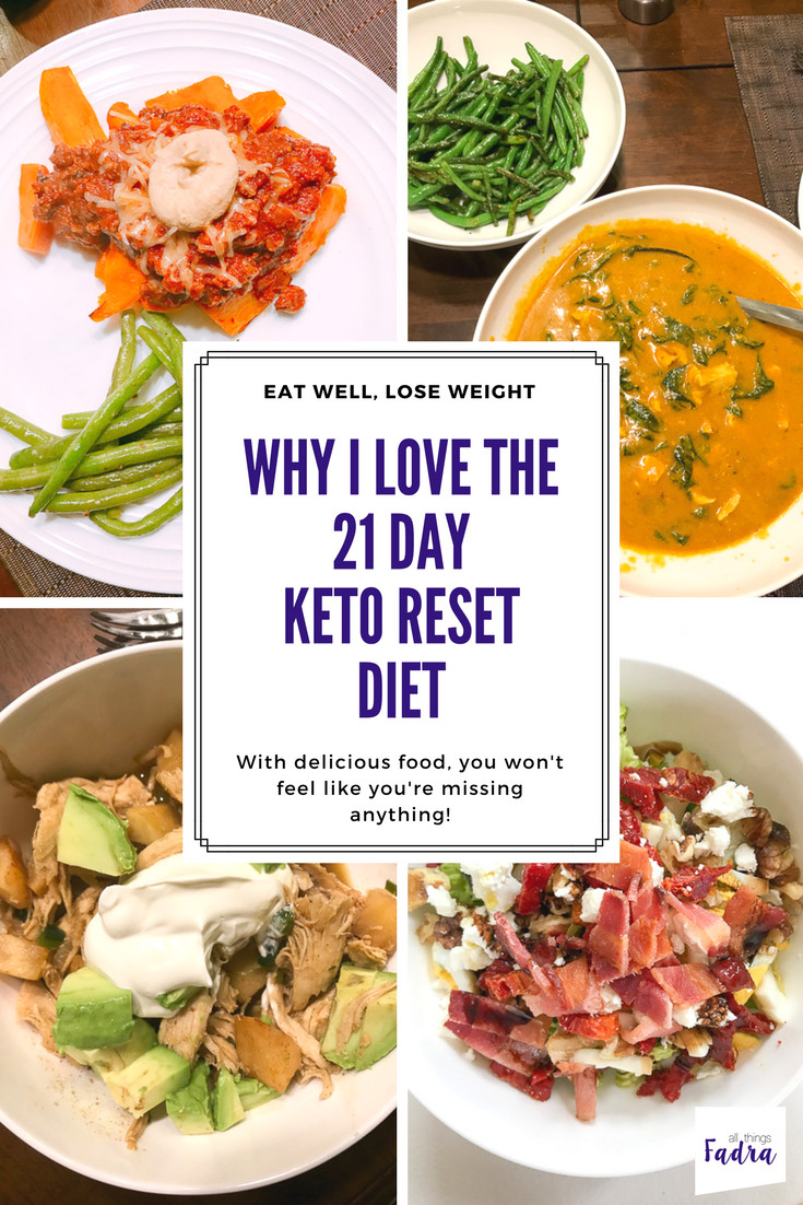 Keto Reset Diet Book  Surviving and Thriving on the 21 Day Keto Reset Diet • All