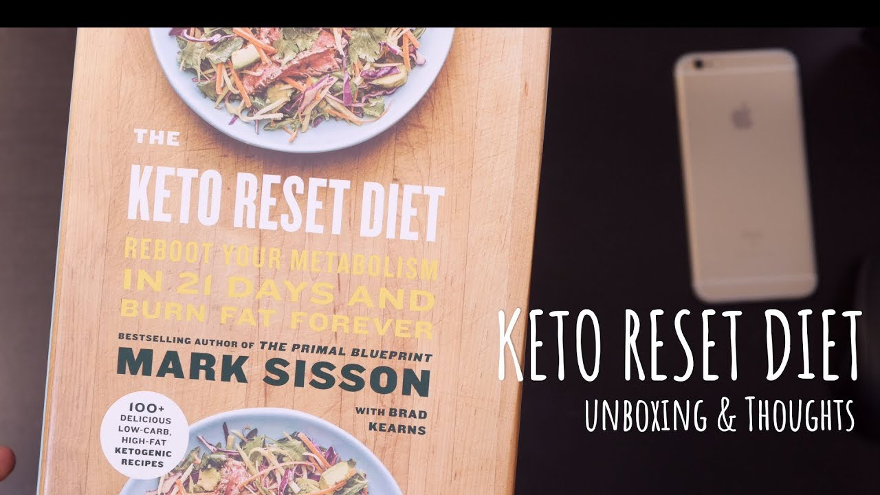 Keto Reset Diet Book  The Keto Reset Diet Book Unboxing and Initial Thoughts