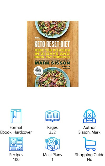 Keto Reset Diet Book  The Best Ketogenic Diet Books for 2019