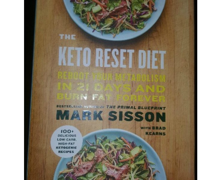 Keto Reset Diet Book  My Sugar Free Journey