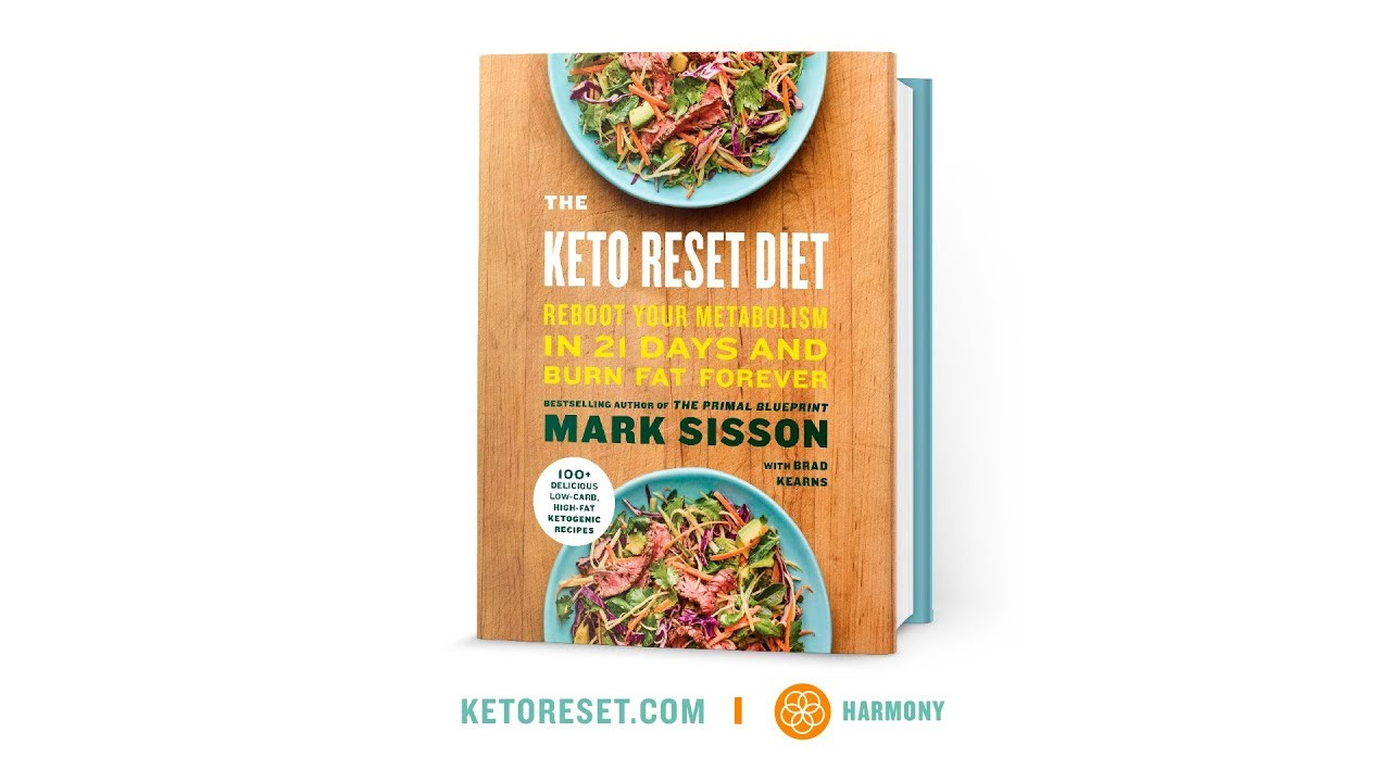 Keto Reset Diet Book  The Keto Reset Diet — ficial Book Trailer
