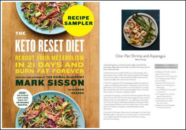 Keto Reset Diet Book  Get Ready to Reset and Go Keto Incredible Pre Order Bonus