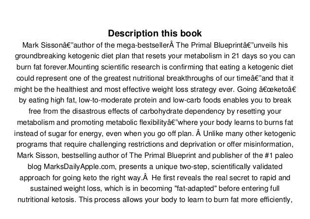 Keto Reset Diet Pdf  [PDF] Full The Keto Reset Diet Reboot Your Metabolism in