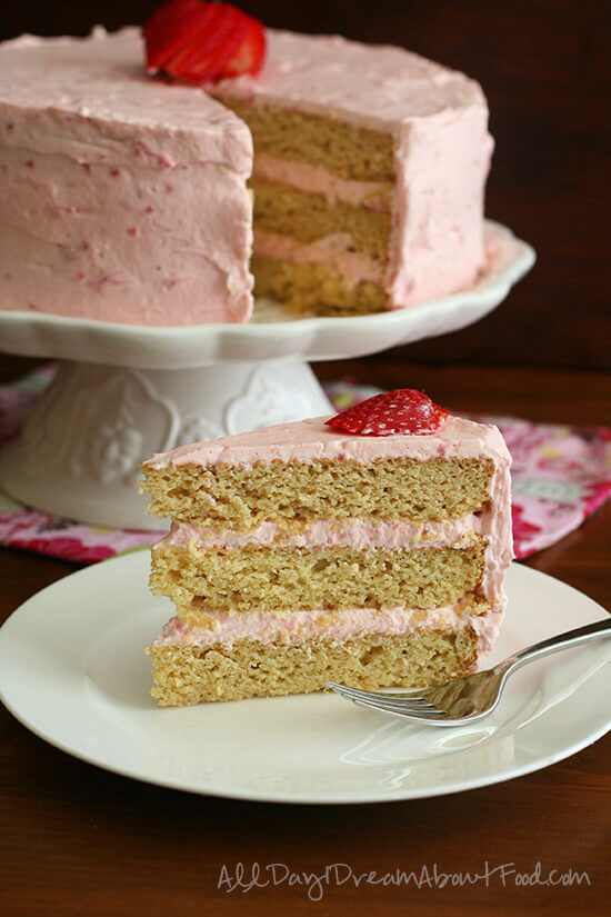 Keto Strawberry Cake  50 Best Keto Spring Dessert Recipes