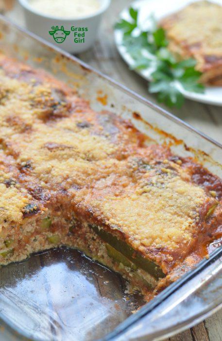 Keto Vegetarian Lasagna Easy Keto Ve arian Lasagna