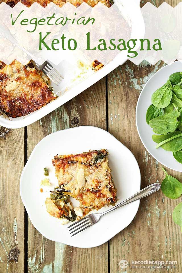 Keto Vegetarian Lasagna Ve arian Keto Lasagna