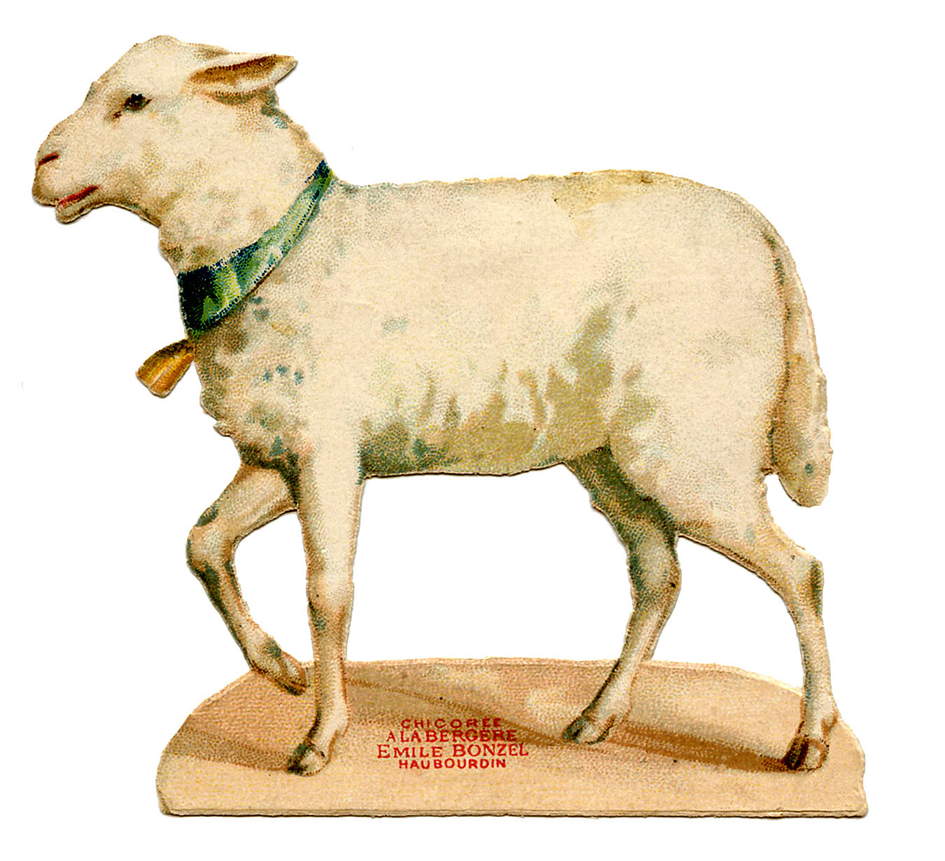 Lamb For Easter  Vintage Easter Graphic Sweet Lamb The Graphics Fairy