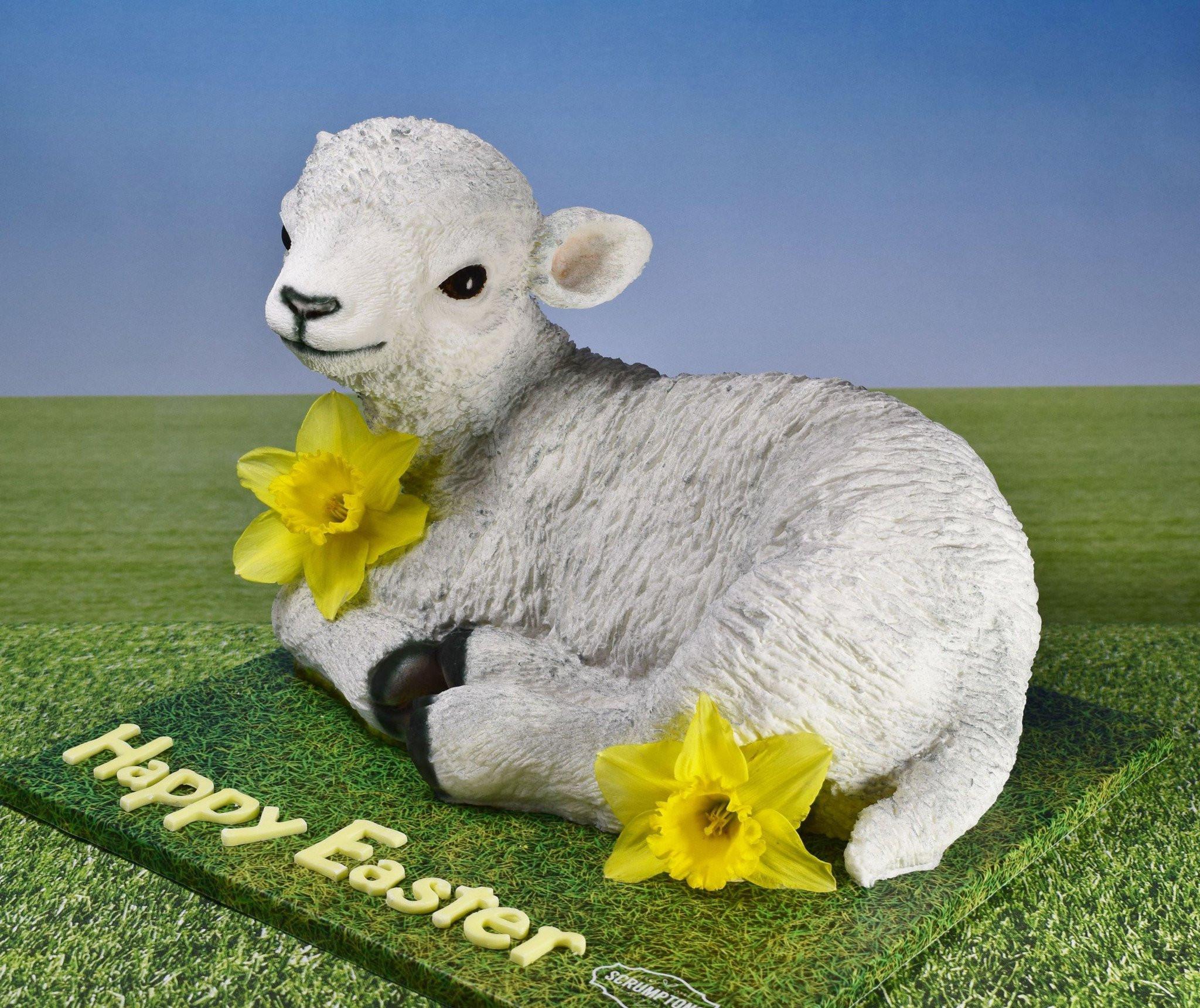 Lamb For Easter  easter lamb cake