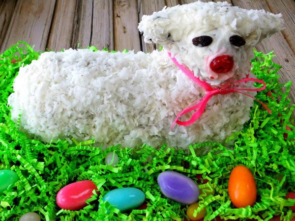 Lamb For Easter  Making Easter Lamb Cake Proud Italian Cook