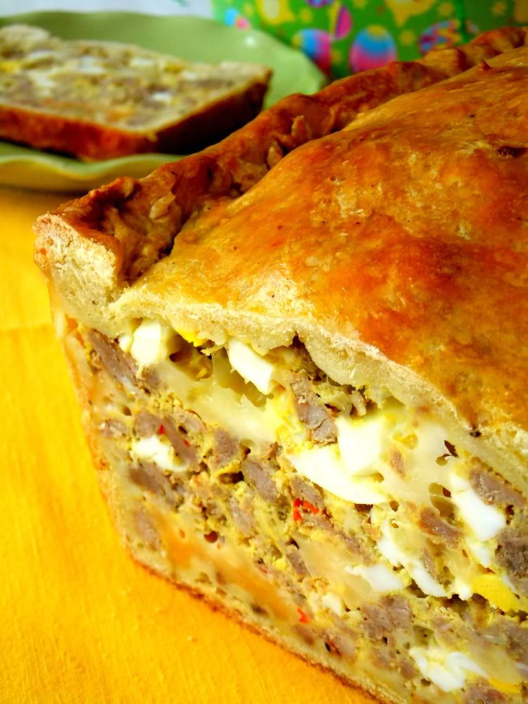 Laura Vitale Easter Bread  calabrese easter frittata