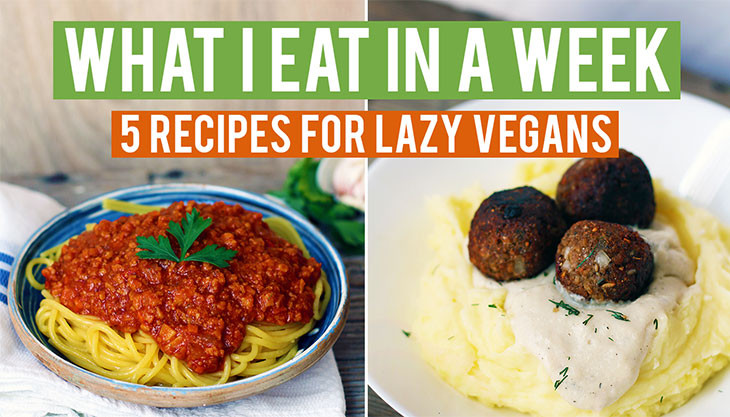 Lazy Vegan Recipes  5 Vegan Recipes for Lazy Vegans