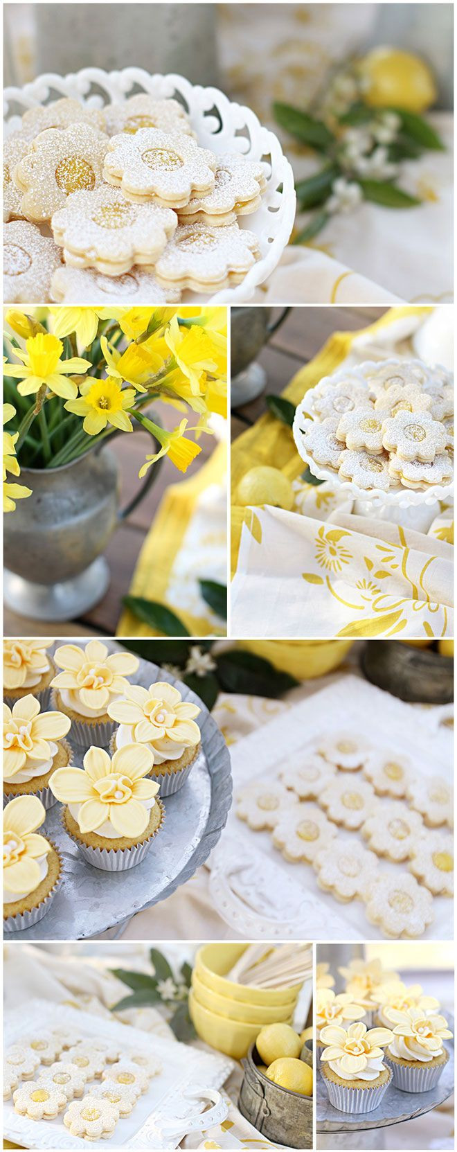 Lemon Easter Desserts  Best 25 Garden party foods ideas on Pinterest