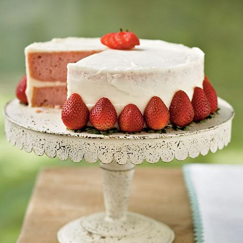 Light Easter Desserts  Strawberry Layer Cake Our Best Easter Desserts Cooking