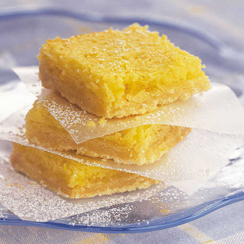 Light Easter Desserts  Easy Lemon Squares Our Best Easter Desserts Cooking Light