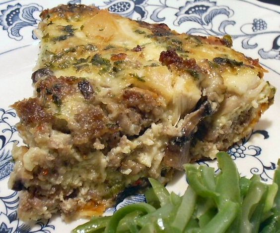 Linda Low Carb Recipes  Low Carb CHICKEN AND STUFFING QUICHE