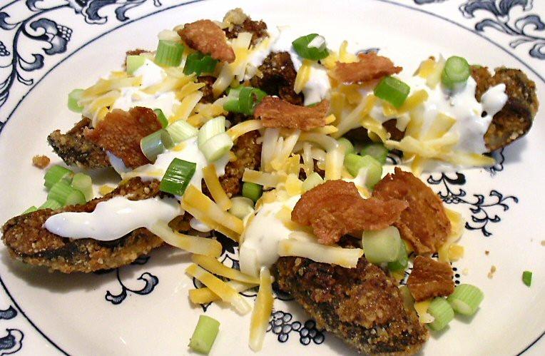 "Linda Low Carb Recipes  PORTABELLO ""POTATO SKINS"" Linda s Low Carb Menus & Recipes"