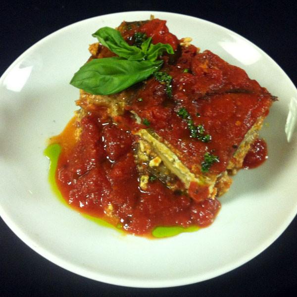 Linda Low Carb Recipes  Linda s Low Fat Low Carb Eggplant Lasagna Recipe