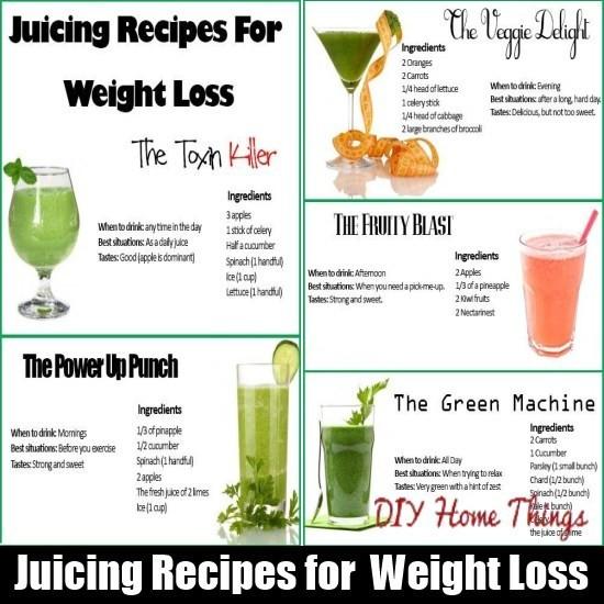 Liquid Diet Weight Loss Recipes  Juicing Recipes for Detoxification & Weight Loss