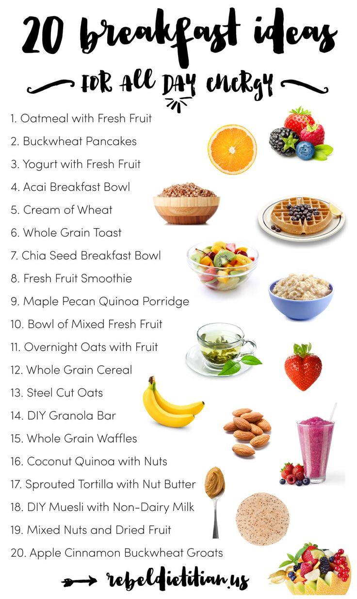 List Of Healthy Breakfast  The best healthy eating t ideas health