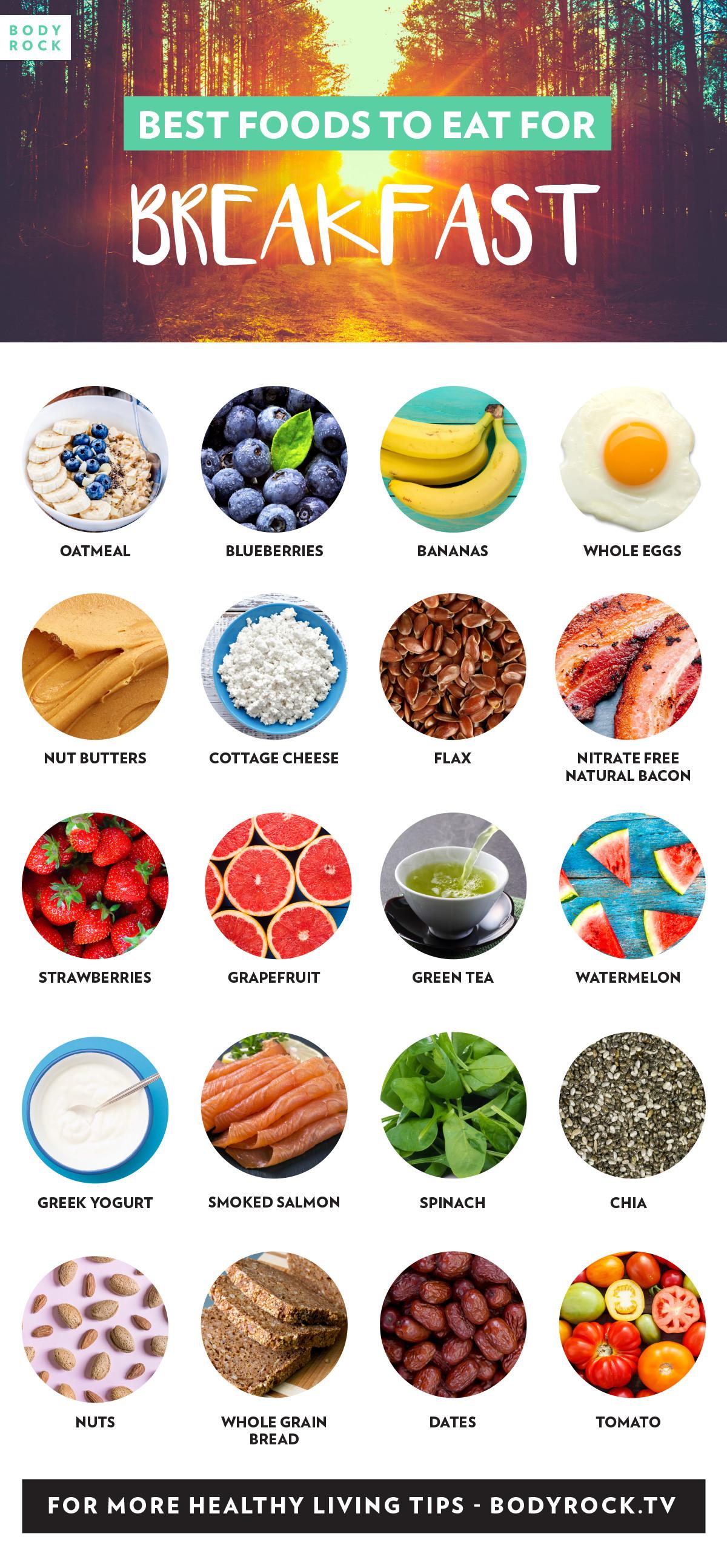 List Of Healthy Breakfast  Best Foods To Eat For Breakfast