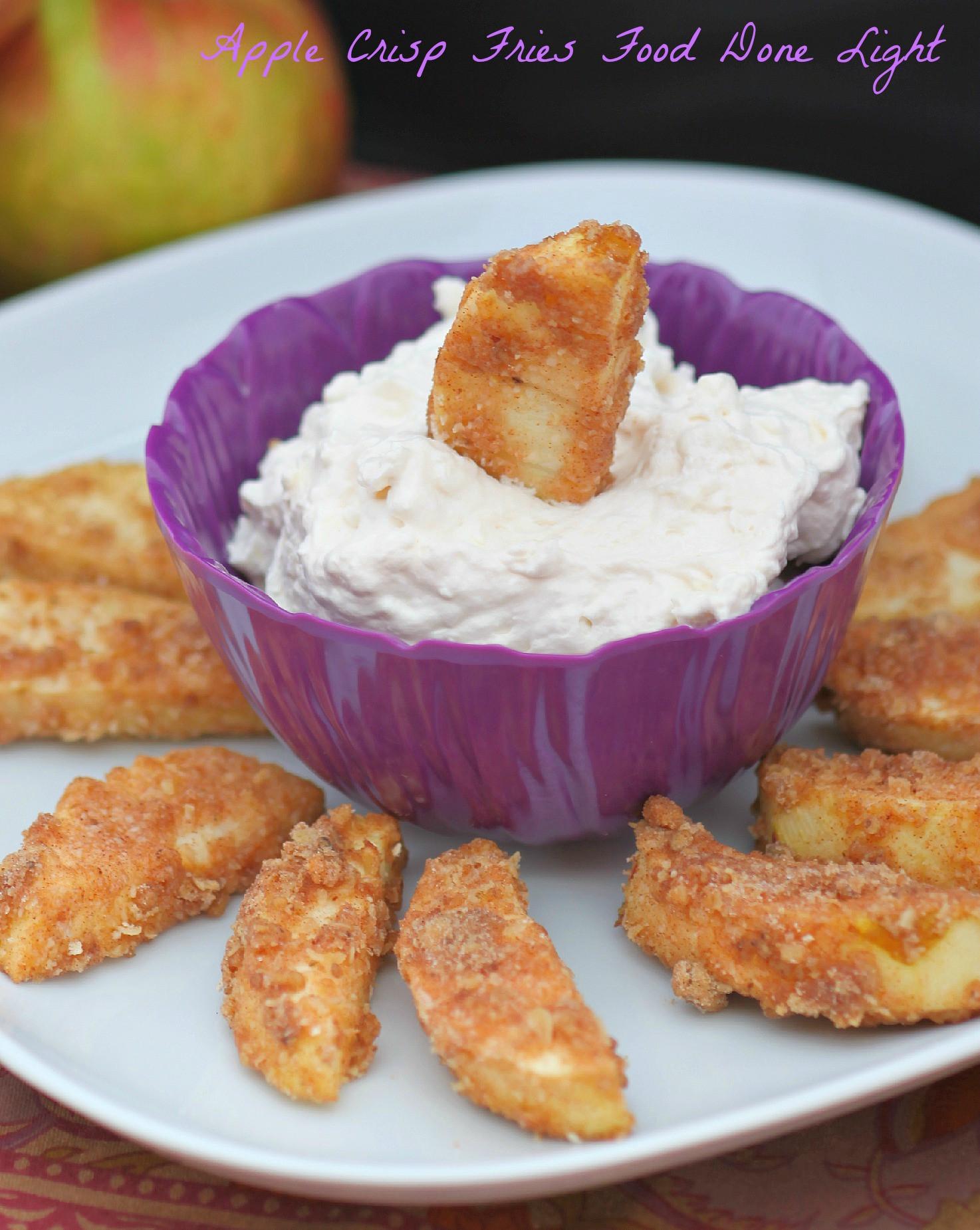 Low Calorie Apple Desserts  Apple Crisp Fries Healthy Low Calorie Food Done Light