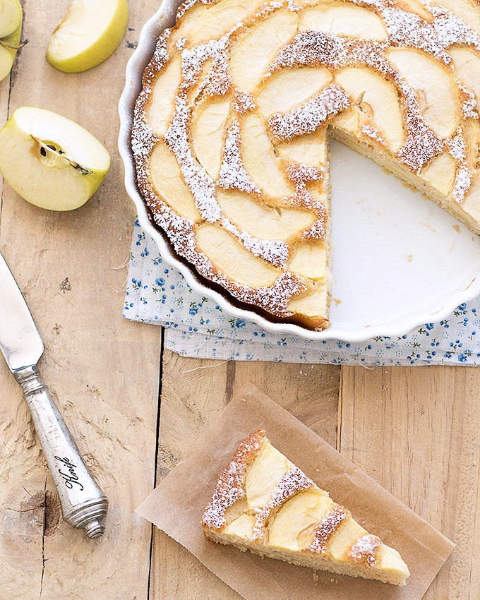 Low Calorie Apple Pie  Low Fat Apple Cake No butter or oil As Easy As Apple Pie
