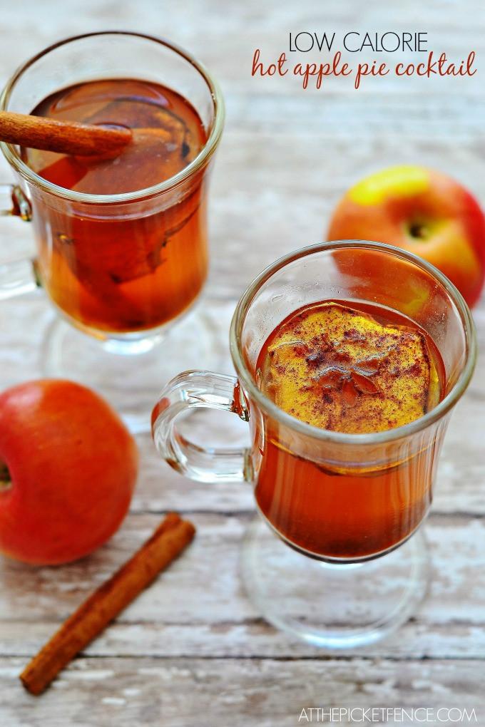 Low Calorie Apple Pie  Hot Apple Pie… A Low Calorie Cocktail At The Picket Fence