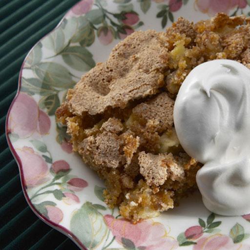 Low Calorie Apple Pie  Apple Pie Pudding Low Fat