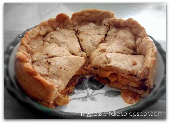 Low Calorie Apple Pie  My Dessert Diet Low Fat Pie Crust for Apple Pie