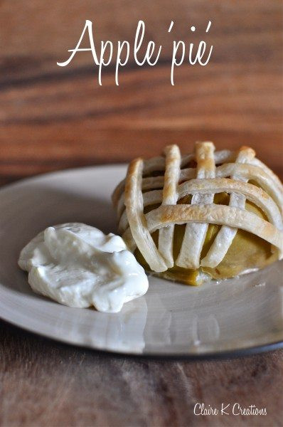 Low Calorie Apple Pie  Apple pie the low calorie way Claire K Creations