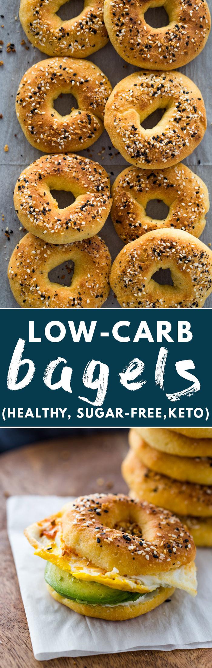 Low Calorie Bagels  Low Carb Keto Bagels