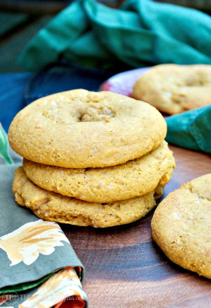 Low Calorie Bagels  Pumpkin Bagels