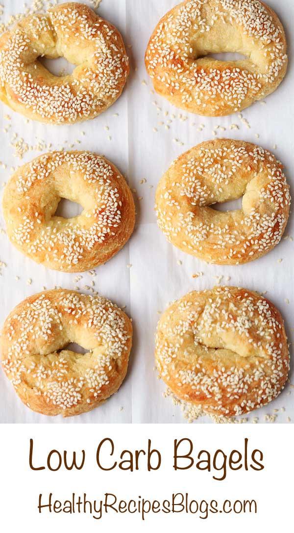 Low Calorie Bagels  Low Carb Bagels Recipe Fathead Dough VIDEO