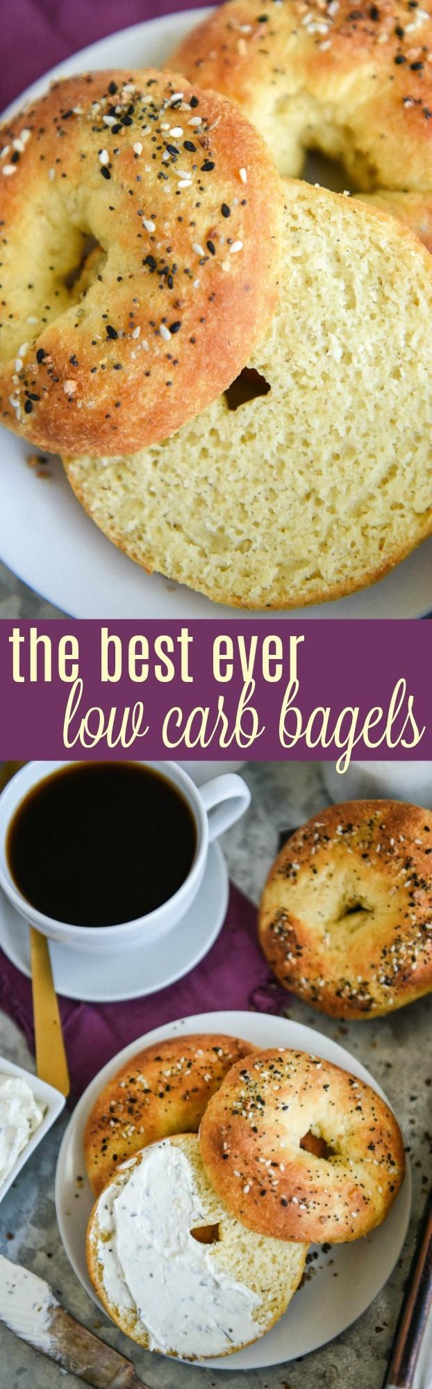 Low Calorie Bagels  The Best Low Carb Bagels