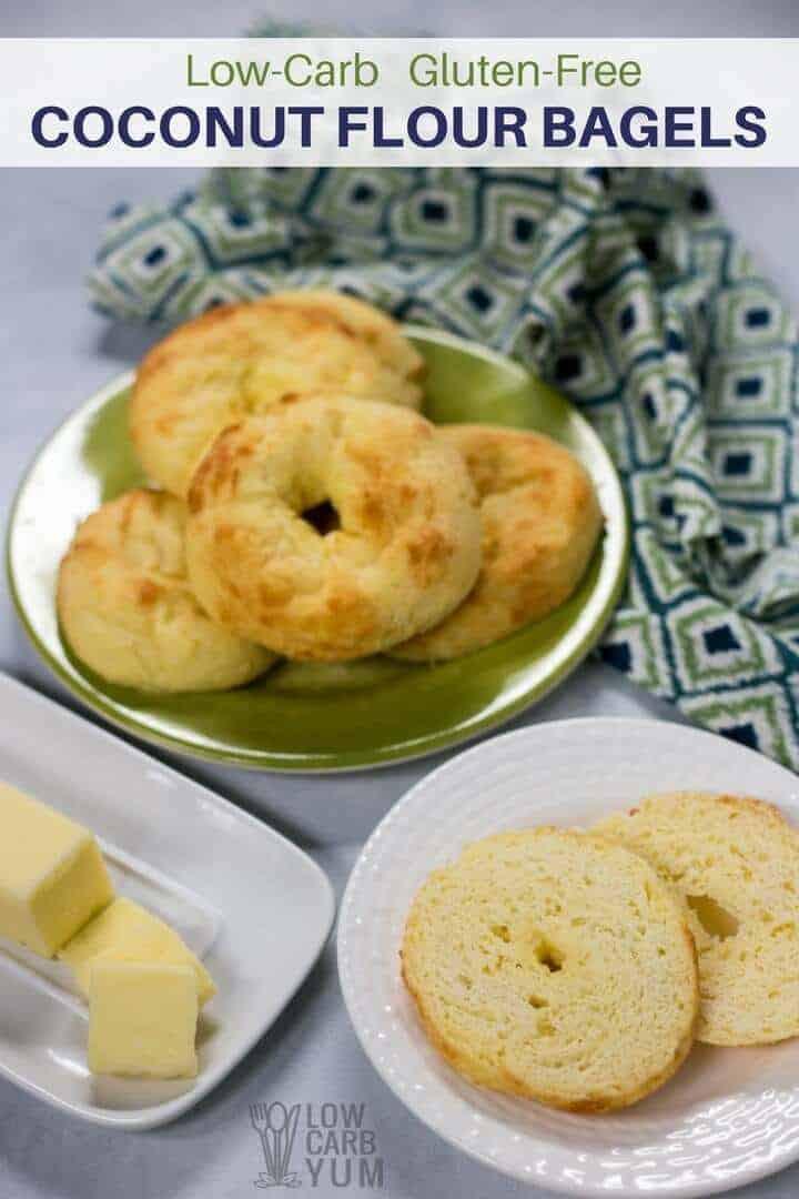 Low Calorie Bagels  Low Carb Bagels Coconut Flour Fat Head Dough