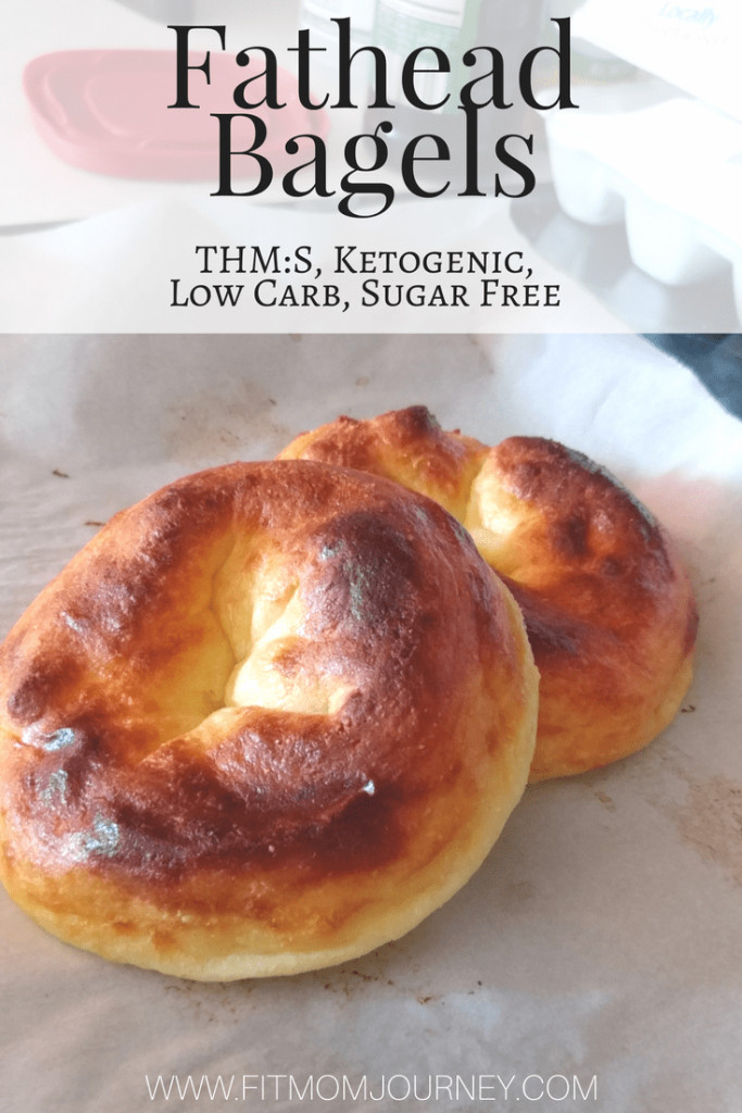 Low Calorie Bagels  Fathead Ketogenic Bagels Recipe THM S Low Carb Sugar Free