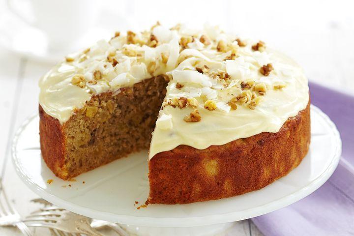 Low Calorie Birthday Cake  Reduced fat hummingbird cake