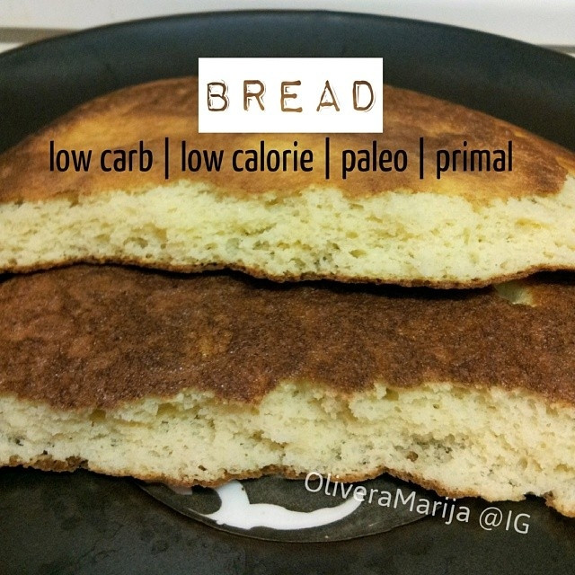 Low Calorie Bread Recipe  Ripped Recipes Low Carb Calorie Primal Paleo Bread