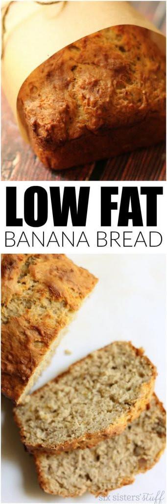 Low Calorie Bread Recipe  Low Fat Banana Bread Recipe