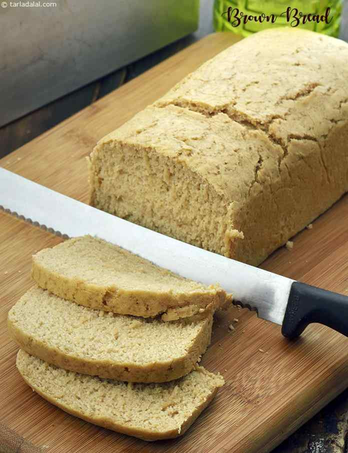 Low Calorie Bread Recipe  Brown Bread Low Calorie recipe