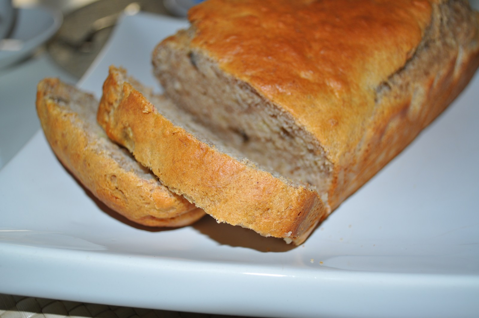 Low Calorie Bread Recipe  Low calorie banana bread Claire K Creations