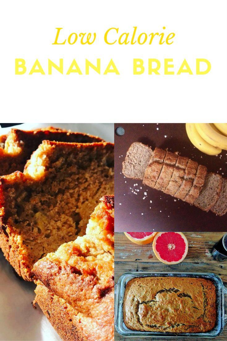 Low Calorie Bread Recipe  Low Calorie Banana Bread Recipe Uses Artificial