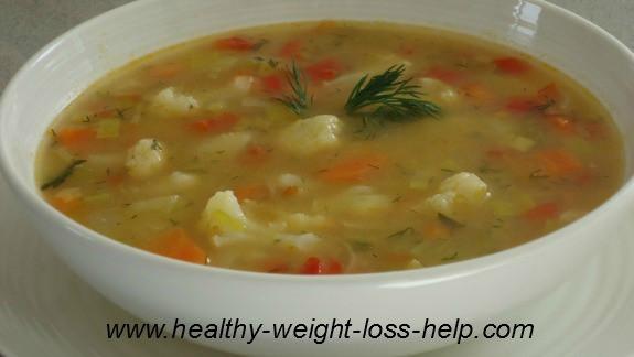 Low Calorie Cauliflower Recipes  Cauliflower Leek Soup Recipe – A Fast Low Calorie Meal