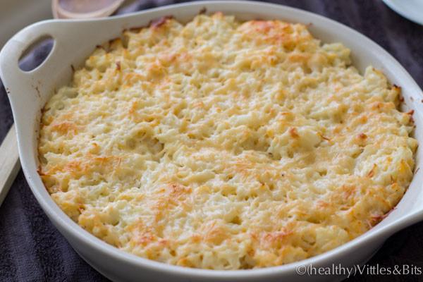 Low Calorie Cauliflower Recipes  low calorie cauliflower casserole
